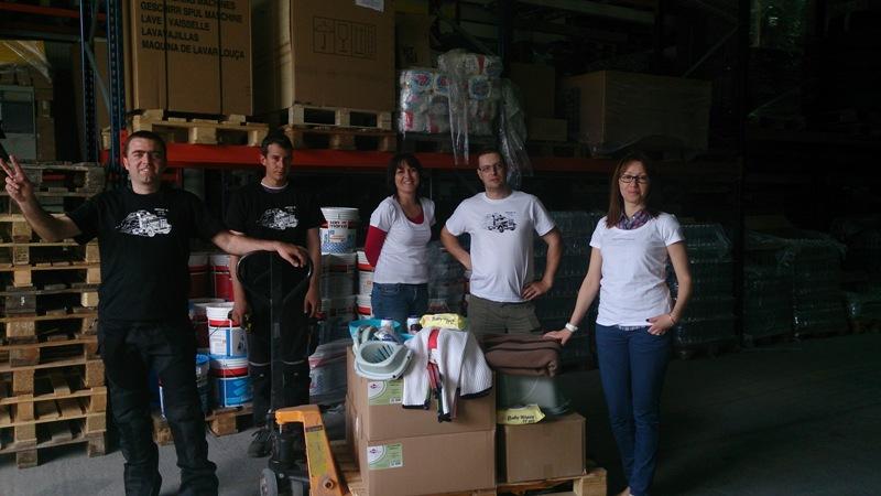 В помощ на пострадалите от природното бедствие в съседна Сърбия
