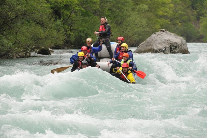 Рафтинг на река Тара